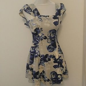 BCBGeneration Fitted Flare Dress